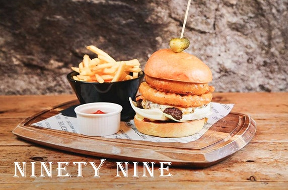 99 Bar And Kitchen Dining Drinks