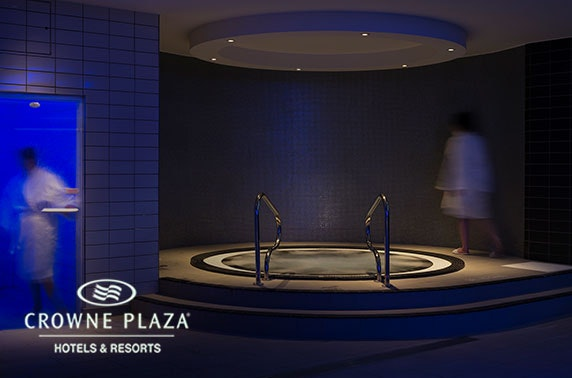 Mineral House spa day at 4* Crowne Plaza