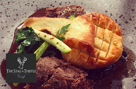 The Stag & Thistle dining