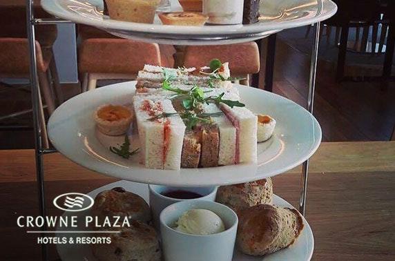 4* Crowne Plaza afternoon tea