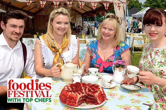 Foodies Festival 2017, Inverleith Park