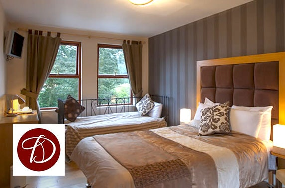 Drummonds Hotel B&B stay, Fife - £29