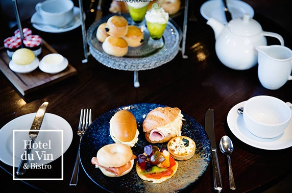 4* Hotel du Vin afternoon tea, St Andrews
