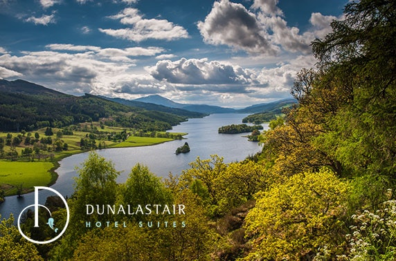 Luxury DBB at Dunalastair Hotel Suites near Pitlochry