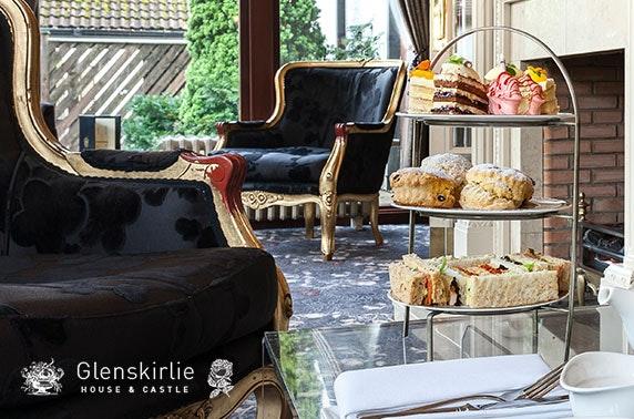 2 AA Rosette Glenskirlie Castle afternoon tea
