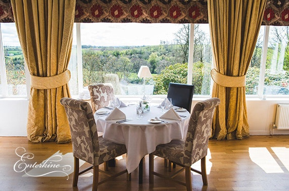 Rosette-awarded Ayrshire break from £59