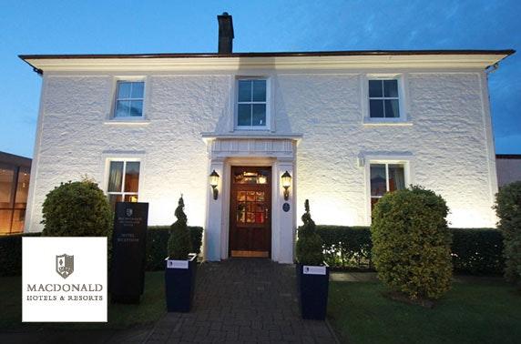 4* Macdonald Crutherland House spa day