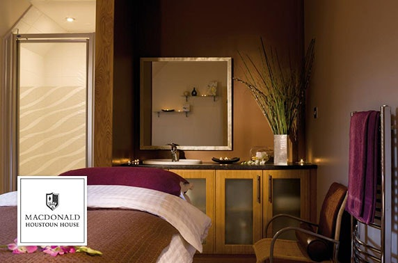 4* Macdonald Houstoun House spa day
