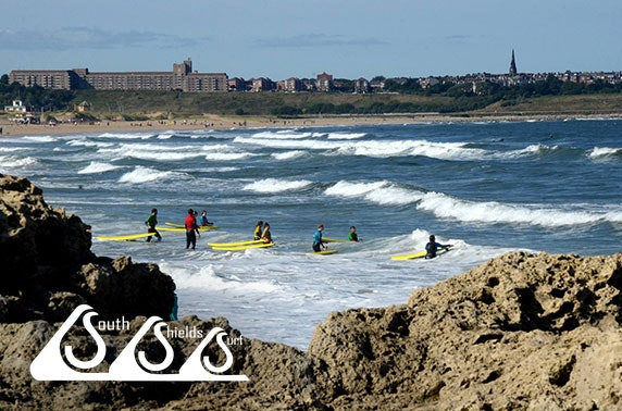 South Shields Surf School beginner lesson