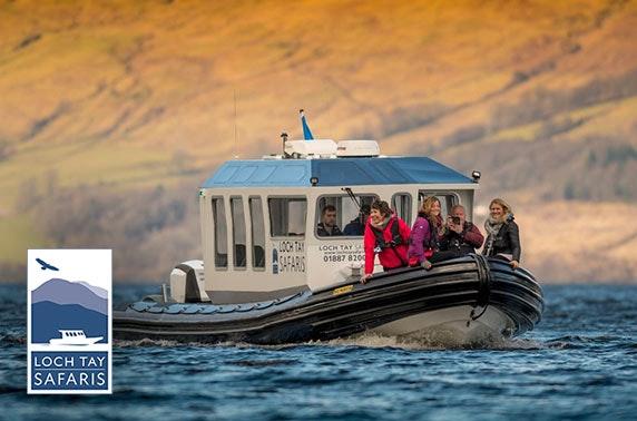 Loch Tay Safaris cruise