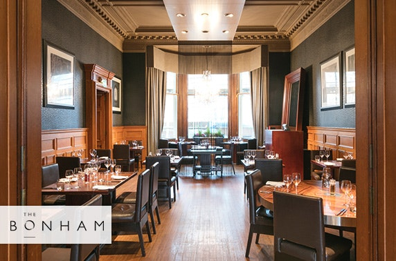 Steak dining at The Bonham, Edinburgh