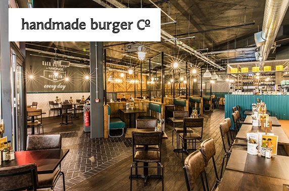 Handmade Burger Co burgers - £5pp