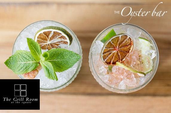 Gin tasting, Royal Exchange Square