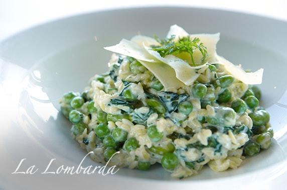 La Lombarda private dining & Prosecco