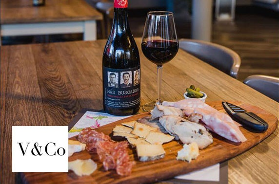 Villiers & Co drinks and charcuterie, West End