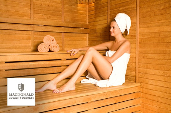 Spa day at 4* Macdonald Inchyra Hotel & Spa