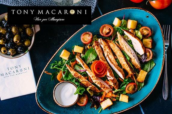Deals at tony macaroni