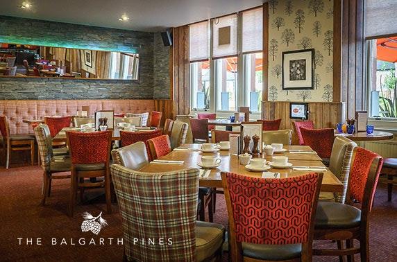 Dining at The Balgarth Pines, Ayr