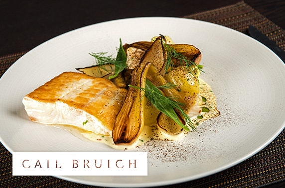 Cail Bruich 5 course lunch