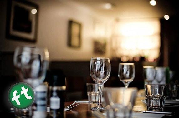 Fanny Trollopes Prosecco dining, Finnieston