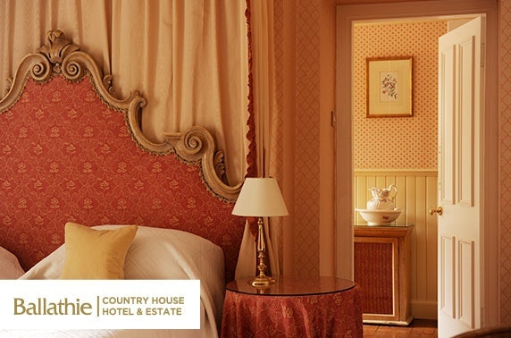 4* Ballathie House Hotel overnight, Perthshire