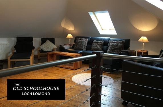 Loch Lomond group getaway – less than £13pppn