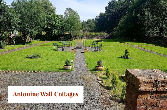 Getaway to doocot cottage with hot tub at antonine wall for Getaway cottage