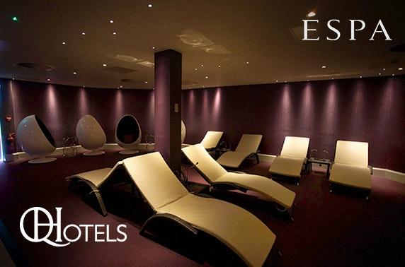 Spa day with treatments and afternoon tea at 4* Westerwood Spa