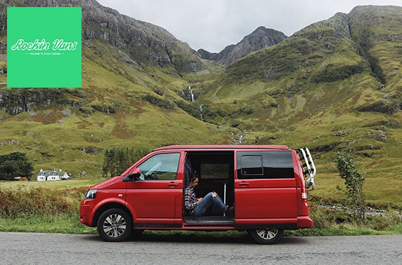 VW Campervan hire – from £14pppn