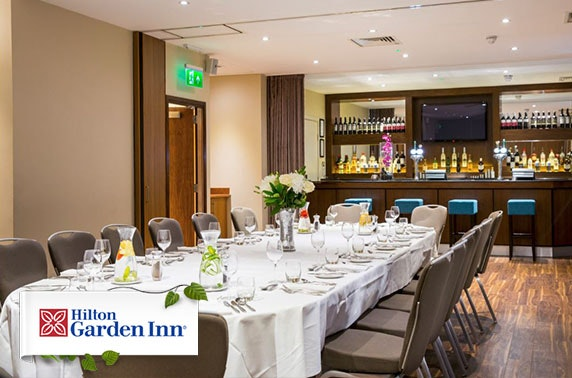 Private riverside dining at Hilton Garden Inn, Finnieston Quay