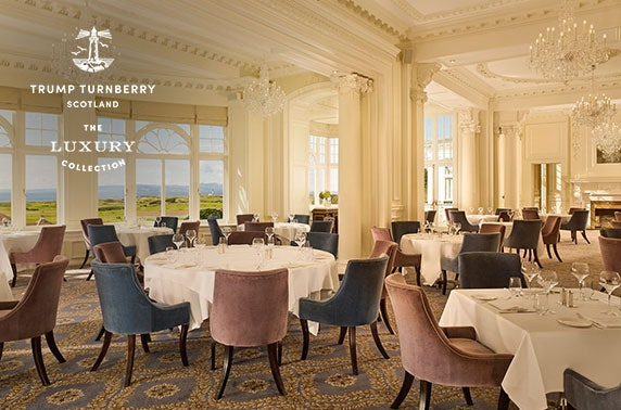 5* Trump Turnberry luxury DBB