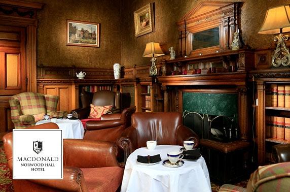 4* Macdonald Norwood Hall stay - £89
