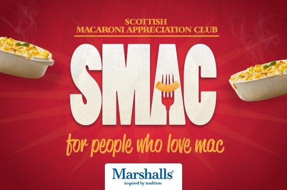 SMAC – Scottish Macaroni Appreciation Club, Sloans