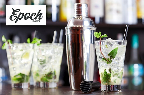 Cocktails & nibbles at Epoch, Princes Square
