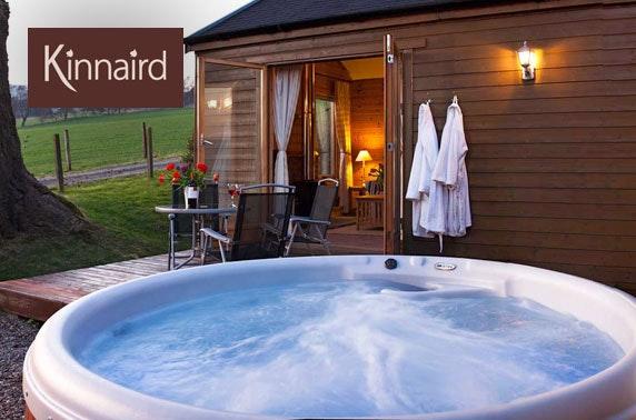 Pitlochry winter lodge break & hot tub