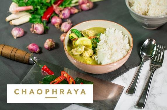 Chaophraya Thai cookery class