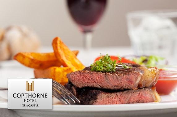 4* Copthorne steaks & wine