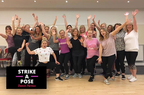 Private dance class with Strike a Pose Dance Parties - choice of venues in Edinburgh & Glasgow