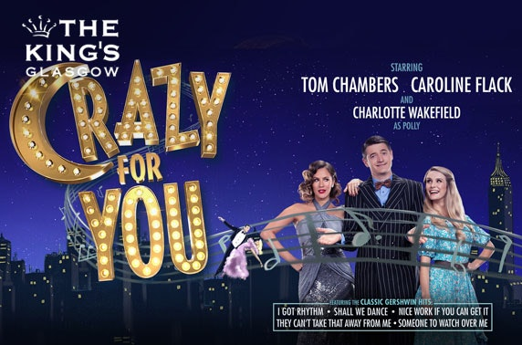 Crazy for You starring Caroline Flack at King's Theatre