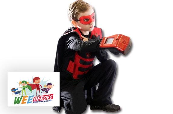 Wee Heroes laser tag game
