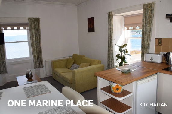 Isle of Bute apartment stay – from £9pppn