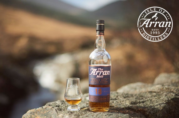 Isle of Arran Distillery tour & tasting