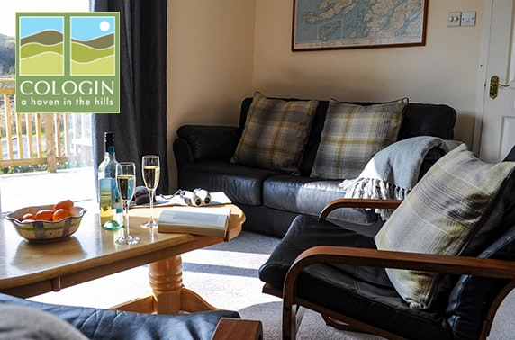 Lodge stay near Oban