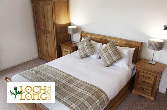 Loch Long Hotel DBB, near Loch Lomond - £69