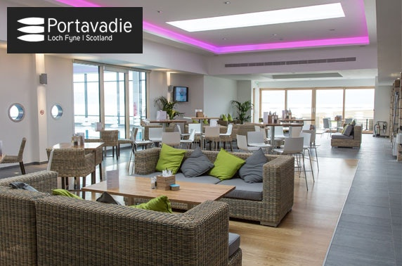 Award-winning Portavadie spa experience & lunch