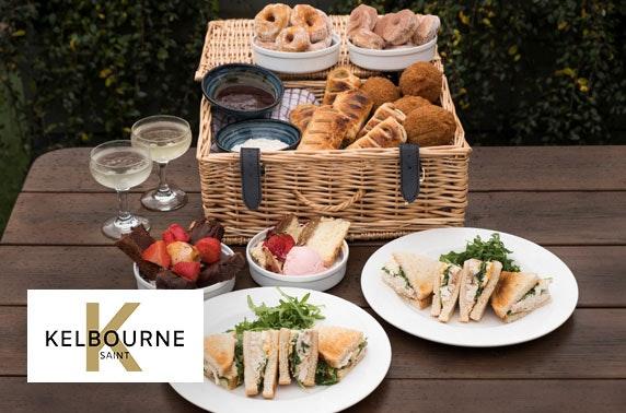 Kelbourne Saint afternoon tea picnic basket