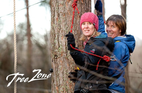 5* Treezone Loch Lomond entry