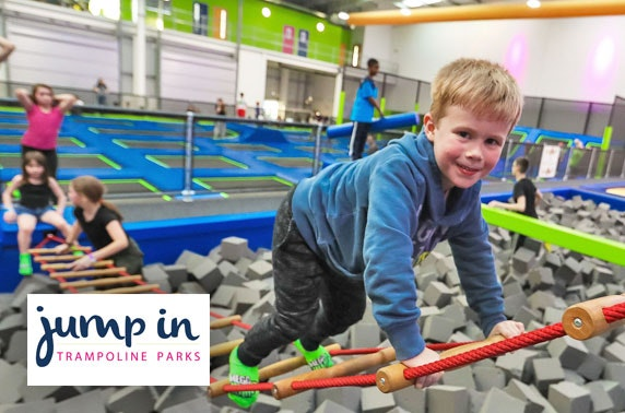Jump In Trampoline Parks: Edinburgh session