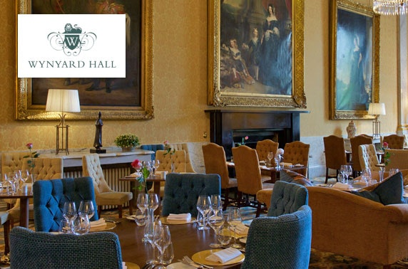 4* Wynyard Hall spa treatment & dining