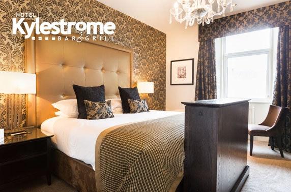 Hotel Kylestrome DBB, Ayr - £75